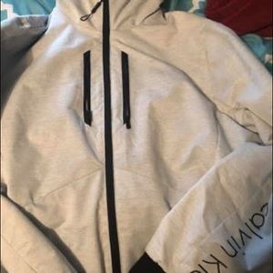 Calvin Klein jacket ( with hood)